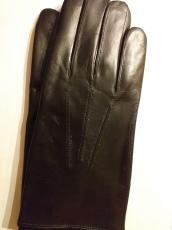 Férfi kesztyű 12000 modell fekete , 100% cashmere bélelt