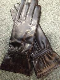Női nappa fekete cashmere bélelt 19003 modell
