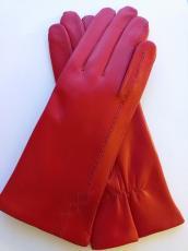 Női nappa piros 21800 modell 100% gyapjú bélelt